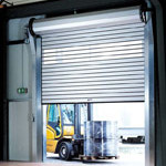 Commercial Metal High Speed Rolling Door