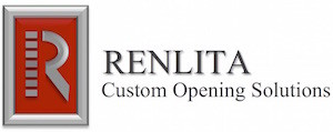 Renlita Custome Opening Solutions Logo Garage Door by Action Door Cleveland Ohio