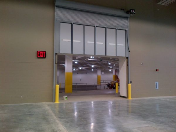 Overhead Commercial Garage Door by Action Door Cleveland Ohio