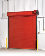 Roll Up Commercial Steel Door by Action Door Cleveland Ohio
