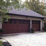 residential new garage door - Action Door installs and repairs garage doors in Cleveland, Akron and Mentor Ohio